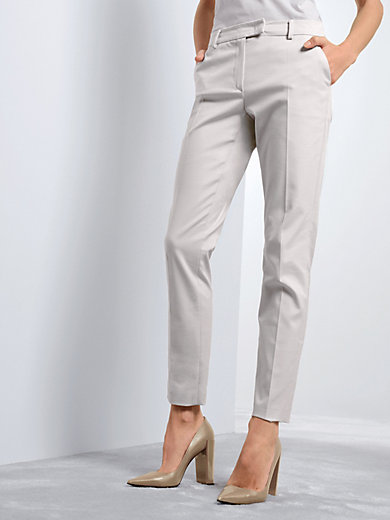 Fadenmeister Berlin - 7/8-length trousers with low-crease material