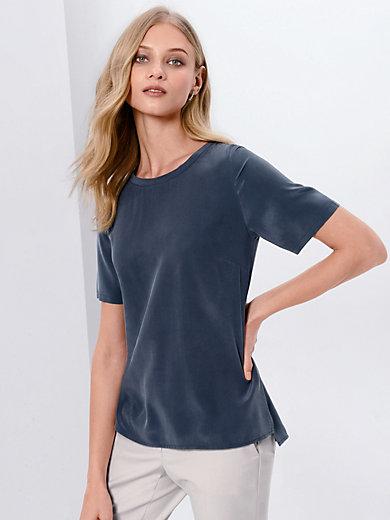 Fadenmeister Berlin - Blusen-Shirt  100% Seide Rundhals