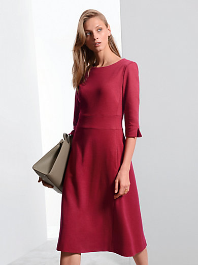 Jersey dress 3/4-length vented sleeves Fadenmeister Berlin red Fadenmeister Berlin 0XM1IMCL