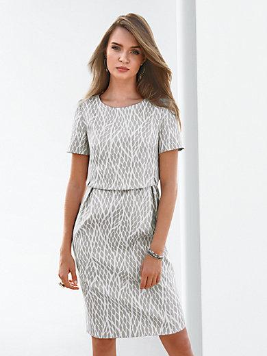 jurk wit zilver