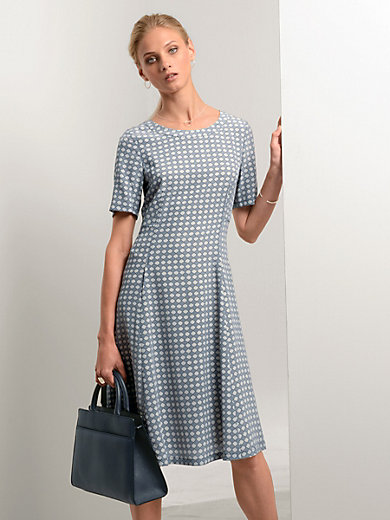 Fadenmeister Berlin - Kleid aus 100% Seide mit 1/2-Arm