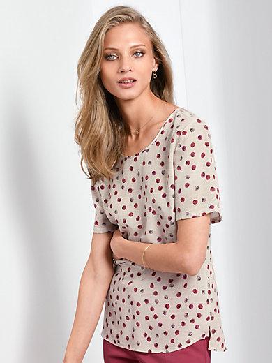 Fadenmeister Berlin - La blouse 100% soie manches courtes