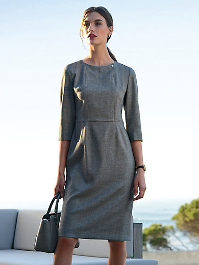 Fadenmeister Berlin - La robe en drap italien à manches 3/4