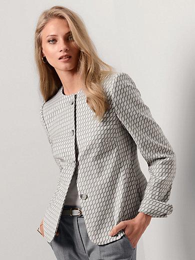 Fadenmeister Berlin - La veste, ligne épurée, motif jacquard