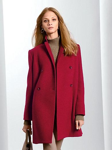 Fadenmeister Berlin - La veste longue en laine vierge à col tailleur
