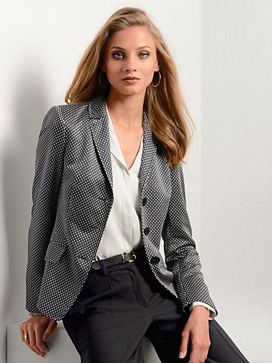 Fadenmeister Berlin - Le blazer en jersey bicolore, col tailleur