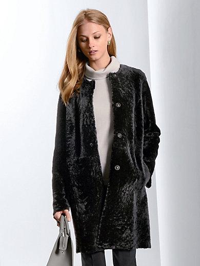 Fadenmeister Berlin - Le manteau réversible en cuir nappa d'agneau