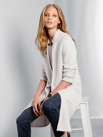 Fadenmeister Berlin - Long cardigan in 100% cashmere