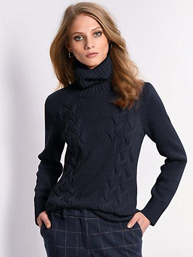 Fadenmeister Berlin - Roll-neck jumper in Pure cashmere in premium quali