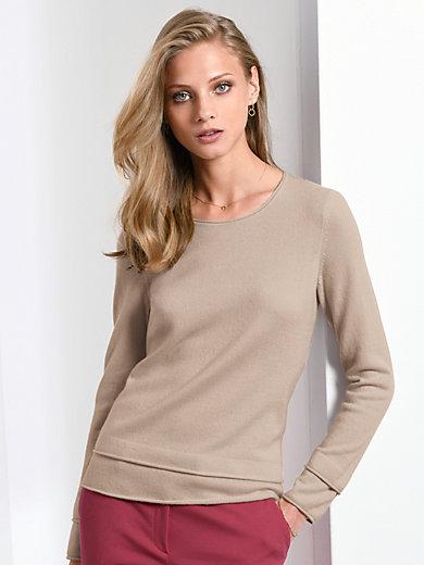 Fadenmeister Berlin - Round neck jumper in 100% cashmere