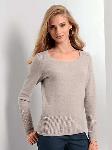 Fadenmeister Berlin - Round neck jumper made of 100% cashmere