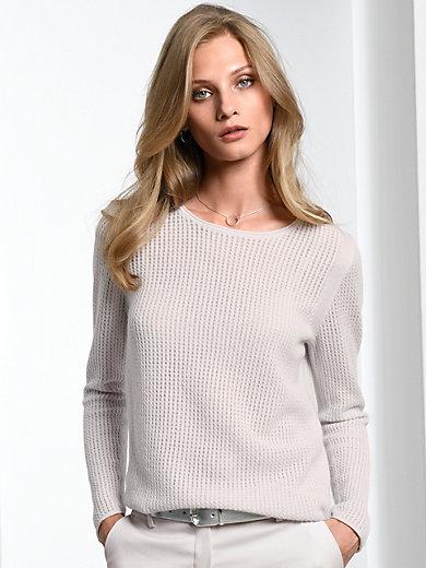 Fadenmeister Berlin - Round neck pullover in 100% cashmere