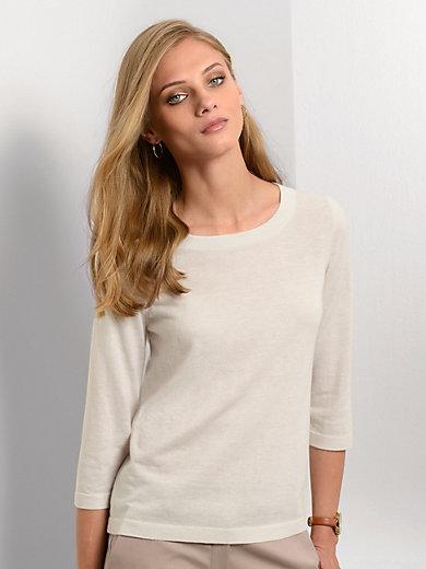 Fadenmeister Berlin - Rundhals-Pullover aus Seide mit Kaschmir