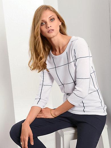 Fadenmeister Berlin - Rundhalsad tröja i ren kashmir