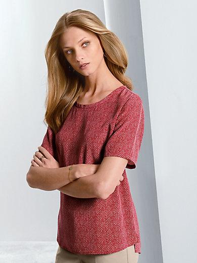 Fadenmeister Berlin - Shirt met korte mouwen van 100% zijde