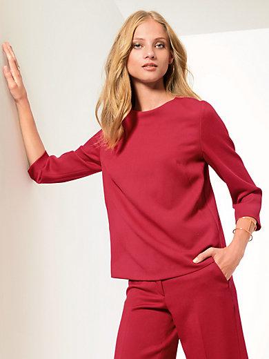 Fadenmeister Berlin - Shirt van 100% scheerwol met 3/4-mouwen