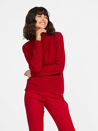 Fadenmeister Berlin - Stehkragen-Pullover aus 100%Kaschmir