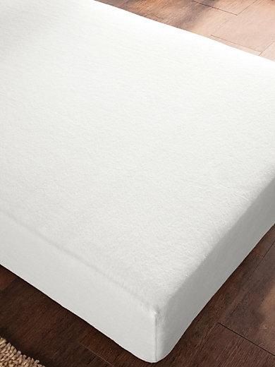 Formesse Schonbezug Bella Donna Edel Molton Spannbetttuch Weiß