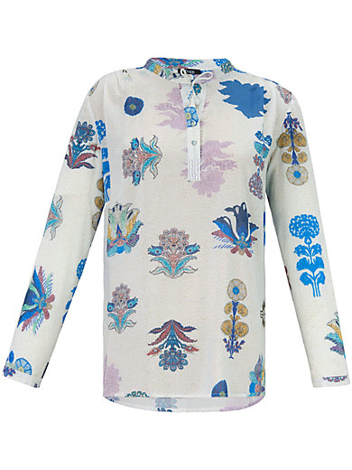 FRAPP - Blouse with beautiful floral details