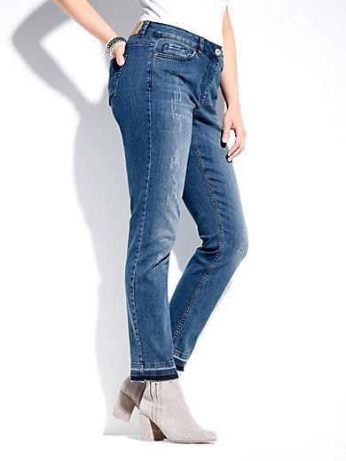 Frapp Le jean longueur chevilles, détails mode