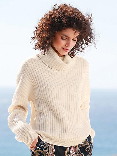 FTC Cashmere - Rollkragen-Pullover aus 100% Kaschmir