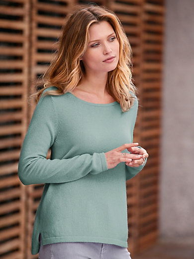 FTC Cashmere - Round neck jumper in 100% cashmere