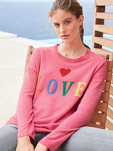 FTC Cashmere - Rundhalsad tröja i 100% kashmir