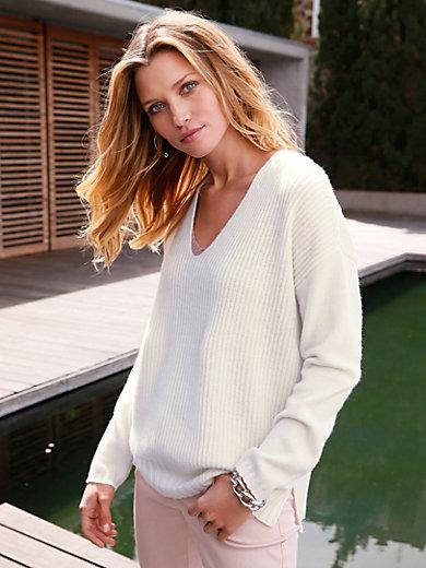 FTC Cashmere - V-neck jumper in 100% cashmere