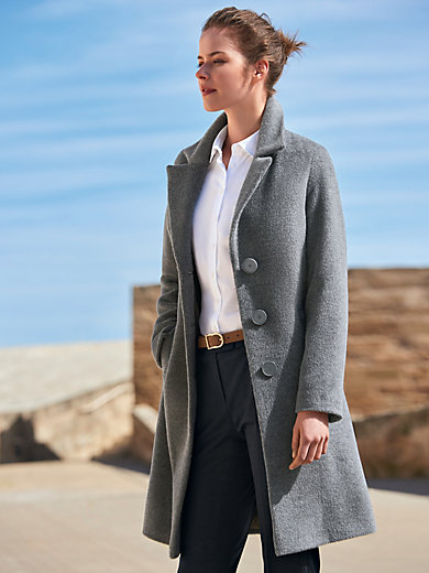 Fuchs & Schmitt - Coat with a wide revers collar