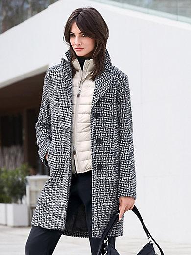 Fuchs & Schmitt - Le manteau 3/4 bicolore, col tailleur