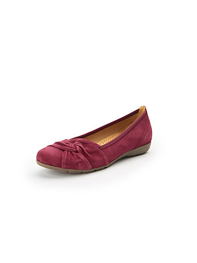 watch ada92 848f6 Ballerina pumps in 100% leather