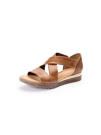 Gabor Comfort - Les sandales en cuir, brides croisées