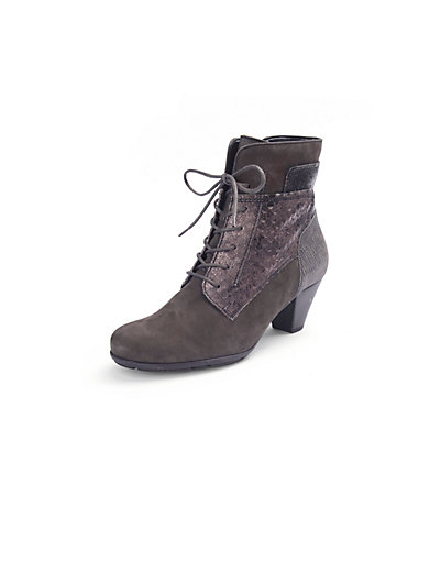 """Gabor - Lace-up ankle boots with a """"Hovercraft"""" effect"""