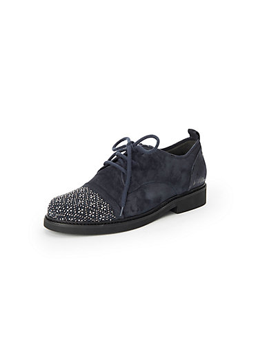 66f374ef2afea Gabor - Lace-up shoes in 100% leather - navy