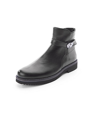 Les bottines en cuir Gabor noir GBKgx