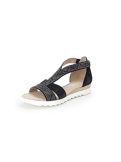 Les sandales 100% cuir Gabor noir RcfKtT