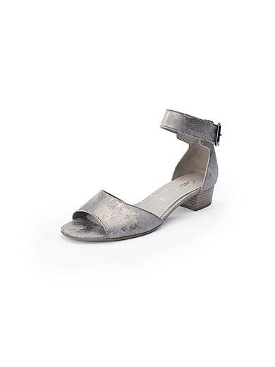 Gabor - Sandale mit Metallic-Effekt