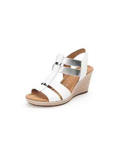 c93c59e7cce8f4 Gabor - Sandals - white silver