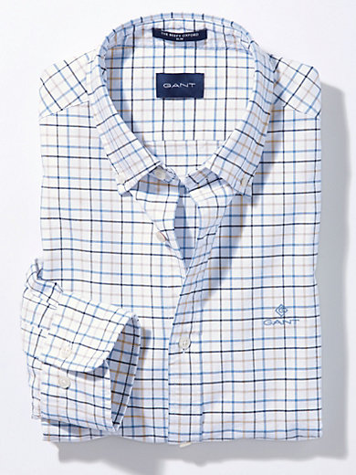 GANT - La chemise 100% coton coupe Regular Fit
