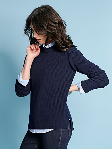 GANT - Le pull en laine Mérinos
