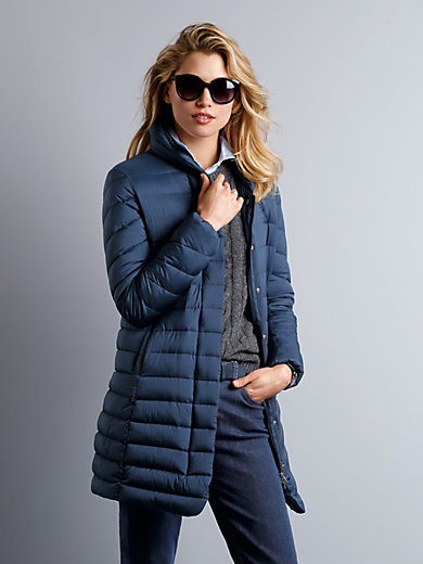 GANT - Quiled down long jacket