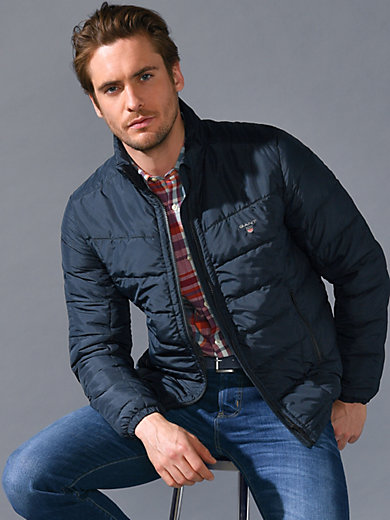 af6446aed Quilted jacket with a raised collar