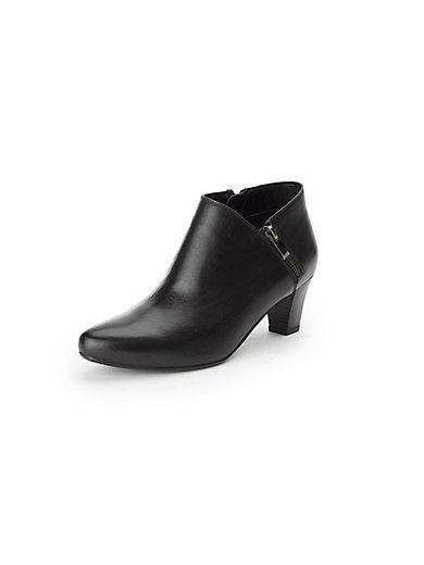 gerry weber ankle boot aus 100 leder schwarz. Black Bedroom Furniture Sets. Home Design Ideas