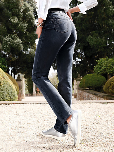 "Gerry Weber Edition - ""Feminine Fit"" jeans design ROMY - dark blue denim 52d74192acb5"