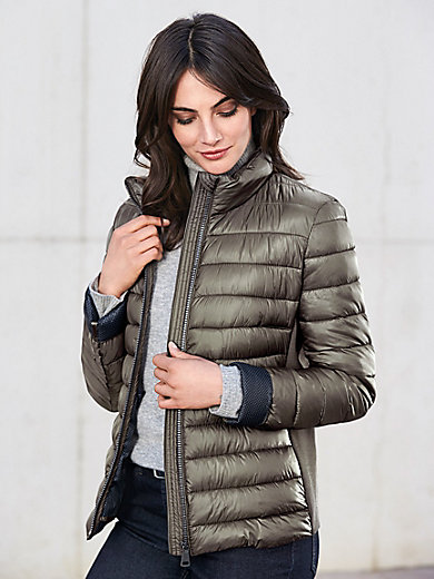 Gerry Weber Edition - La veste matelassée courte, col montant