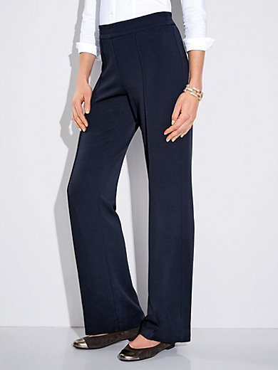 Gerry Weber Edition - Modern Fit jersey trousers – Pia