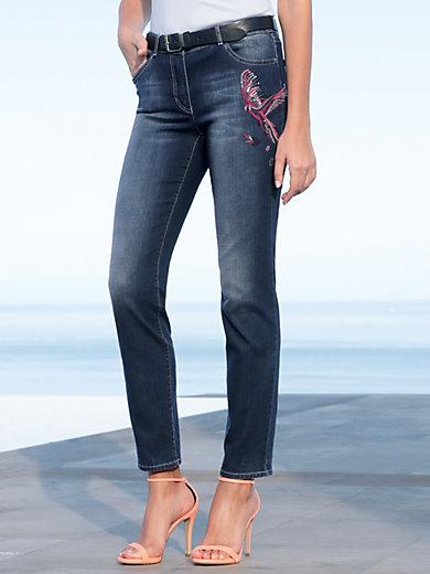 Gerry Weber - Jeans mit Papageien-Motiv