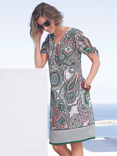 Gerry Weber - Jersey dress with vented short sleeves