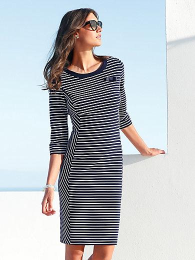 Gerry Weber - Jersey-Kleid mit Struktur und abnehmbarer Schleife