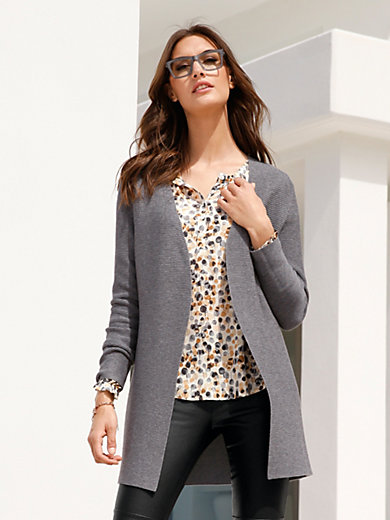 Gerry Weber - Long-Strickjacke in verschlussloser Form